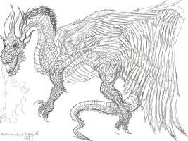 Winged Dracogriff by danlewis4475
