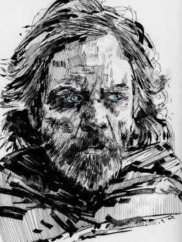 Luke Skywalker by GregoryStephenson
