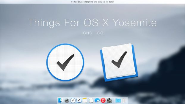 Things For OS X Yosemite by JasonZigrino