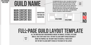Guild Layout Template by sosuftw