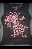 Scissorhands Blueprint Shirt by LynZtheMaddTatter
