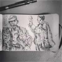 20 of 192 Pages iRKO! Mobile Sketchbook by EnricoManiago