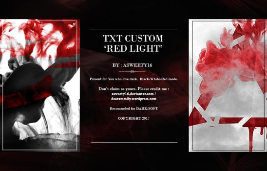 Texture Red Light #5 by Asweety16