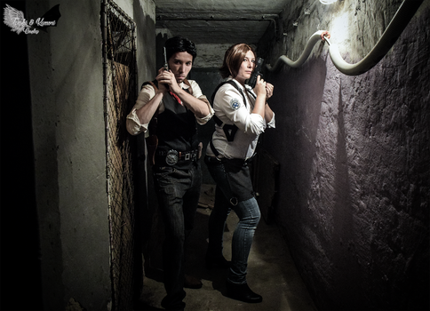 The Evil Within - Kidman And Seb by DrRyo