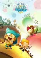 Mini wakfu poster by ntamak