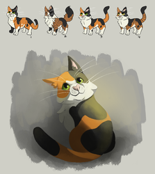 RECOVERY: Morgan's Cat designs by Lightcall-Skeleton