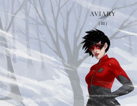 Aviary issue 3 cover by Luthie13