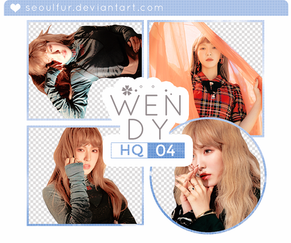 WENDY / RED VELVET / PNG PACK by seoulfur by seoulfur