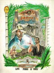 Jurassic Park by Snow-Monster