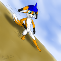 Sliding by KyteTheFox
