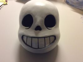 Finished Sans Head (No Pupils) by AttackGoose