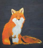 Canvas Fox by I-See-Shell