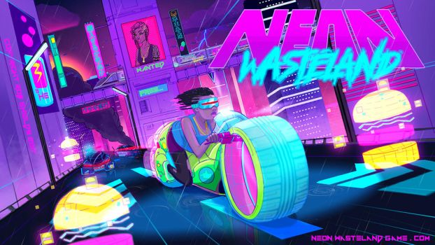 Rabbit Run (11 Days to Free Demo) Neon Wasteland by RobShields