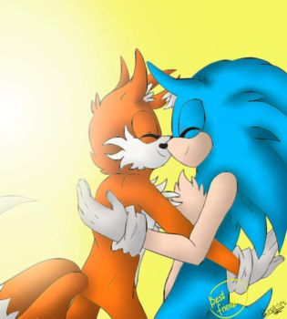 Sonic and Tails by PiRoG-Art