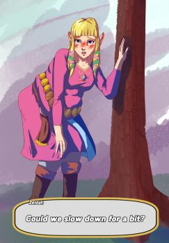 Skyward Sword Zelda WG by undeadpenguin37