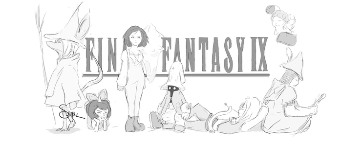 Final Fantasy IX by lSaya