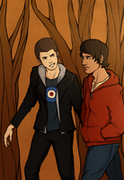 Teen Wolf - Scott and Stiles by ithili3n
