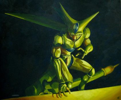 Cell Dbz by LucasHartes
