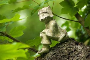 Little earth man spotted by steppelandstock
