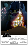 Star Roars Theatrical Poster v.3 by RetroUniverseArt