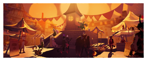 Candleblight Festival || Candletown Faire by Malfey-VII