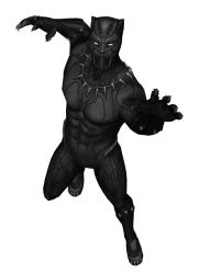 [MMD] MFF Black Panther (Movie Version) by arisumatio