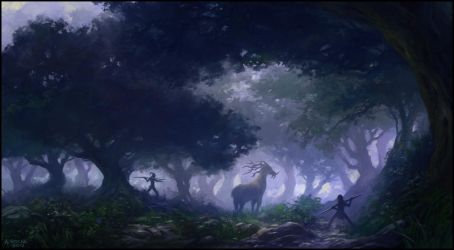 The Hunt by andreasrocha