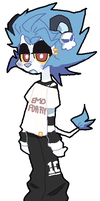 Emo Furry (Selling-cheap ass boi-CLOSED) by DINKY-INK