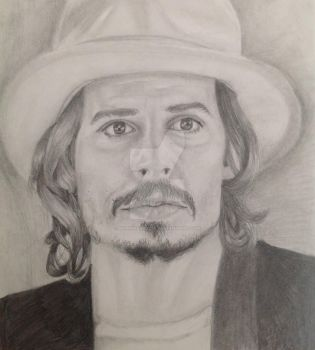 Johnny Depp by MyPinkLifecOc