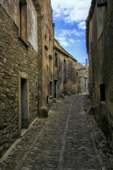 Streets of Erice by CitizenFresh