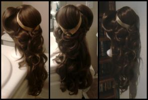 Belle wig by TheRealLittleMermaid