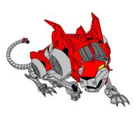 Voltron Force - Red Lion by W-Double