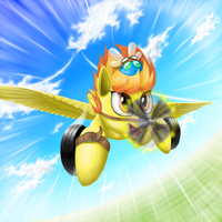 Spitfire as spitfire by The1Xeno1