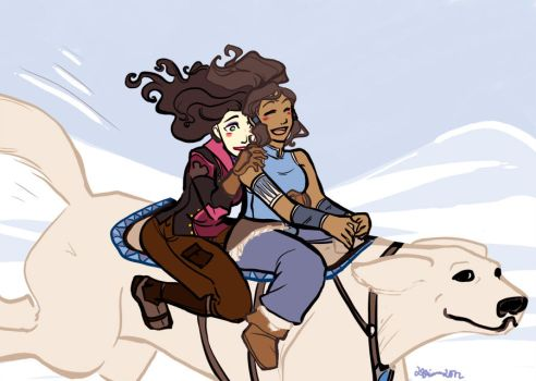 KorrAsami: Ride by elleskinner
