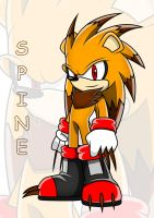 Spine The Porcupine (updated) by Arung98