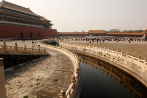 Forbidden City - outer courtyard 1 by wildplaces