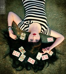 Queen of Hearts. by CandyStarchild