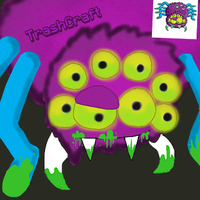 Splider from TrashPack by TrashCraftpayer