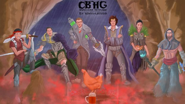 Groupe CBHG [Invocation heretique] by UnrealSimulation