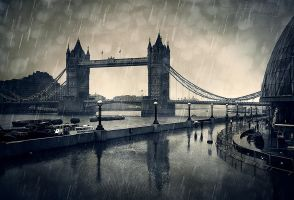 londons rainy season by fbuk