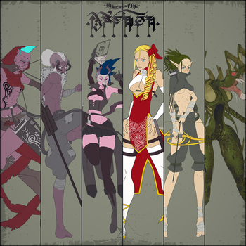 The Seal of The Daemon - Line Up by SektrOne