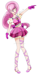 [Present] Cure Tulip Redesign by TLoZ-Freack123
