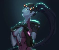 overwatch widowmaker by consep99