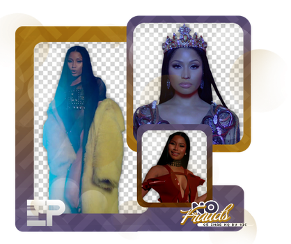 PACK PNG 330 // NO FRAUDS (NICKI MINAJ) by ELISION-PNGS