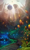 Dreamscape-Land of balloons by RaVirr17