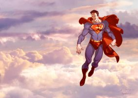 Superman Back by Maiolo