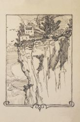 Cliff House Drawing by demonui