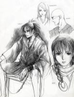 Blade of immortal sketches by shinjyu