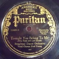 Puritan, electrical recording by PRR8157