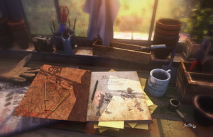 Grandpa's work area by JWraith